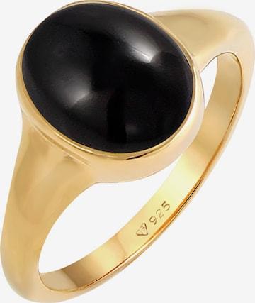 Inele 'Edelstein Ring' de la ELLI pe auriu