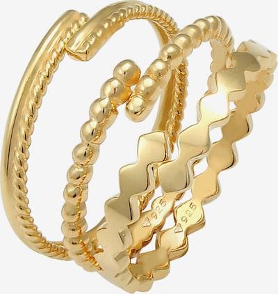Set de bijuterii 'Geo' ELLI pe auriu, Vizualizare produs