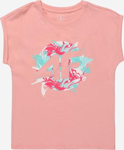 4F Funkčné tričko - tyrkysová / koralová / ružová / biela, Produkt