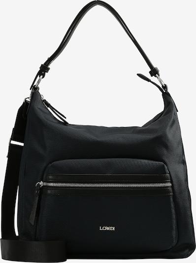 L.CREDI Hobo 'HOLLY' in schwarz, Produktansicht