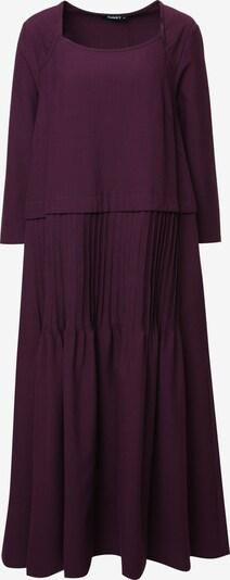 Madam-T Kleid in weinrot, Produktansicht