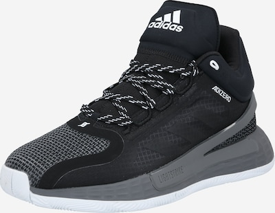 Sportiniai batai 'D Rose 11' iš ADIDAS PERFORMANCE , spalva - pilka / margai pilka / juoda, Prekių apžvalga