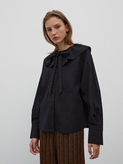 EDITED Bluse 'Angela' in schwarz, Modelansicht
