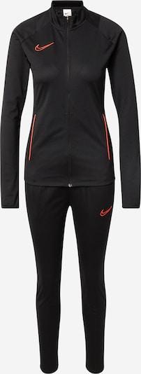 Costum de trening NIKE pe roșu orange / negru, Vizualizare produs