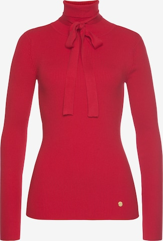 Tom Tailor Polo Team Sweater in Red