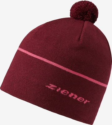 ZIENER Athletic Hat 'ICTIVO' in Red