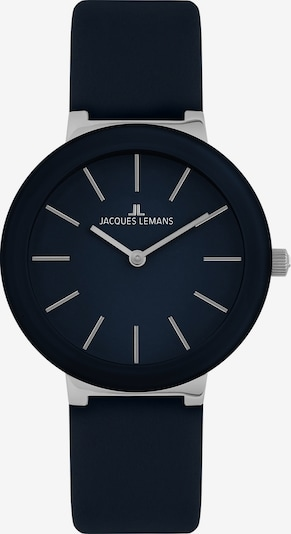 Jacques Lemans Analoguhr in dunkelblau, Produktansicht