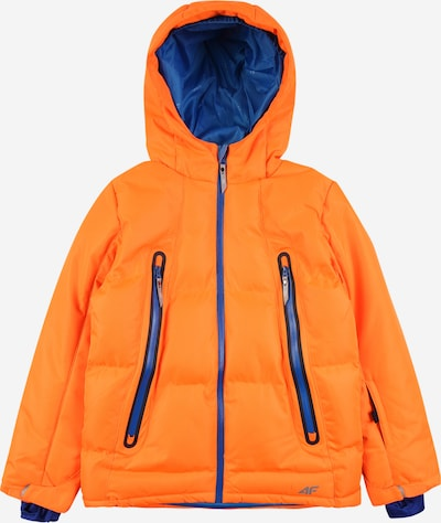 4F Outdoor jacket in marine / neon orange, Item view