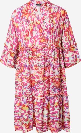 Zwillingsherz Kleid 'Crazy Leo' in gelb / lila / pink / pastellpink, Produktansicht