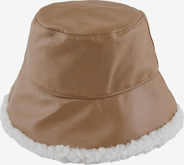 PIECES Hat 'Selina' in Brown