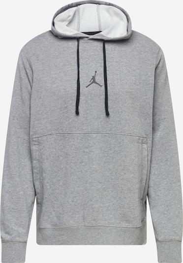 Jordan Sweat-shirt en gris chiné / noir, Vue avec produit