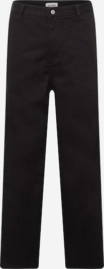 WEEKDAY Čino bikses 'Ross', krāsa - melns, Preces skats