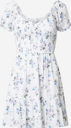 HOLLISTER Dress in Mixed colours / White, Item view
