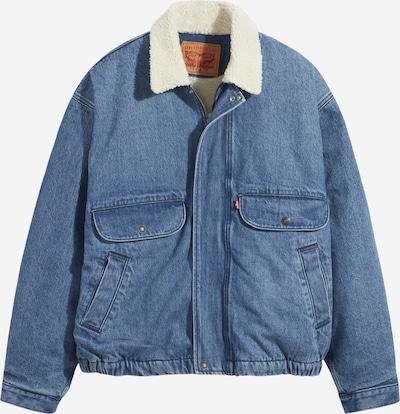 LEVI'S Jeansjacke 'RANCHER SHERPA TRUCKER' in blue denim, Produktansicht