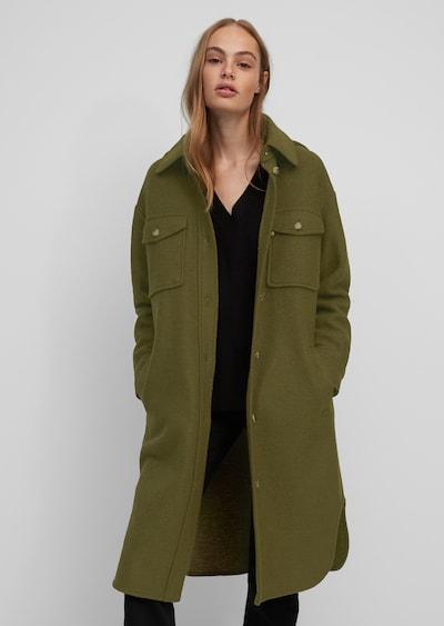 Marc O'Polo DENIM Mantel in dunkelgrün, Modelansicht