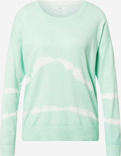 BRAX Jersey 'Lisa' en verde pastel / blanco, Vista del producto