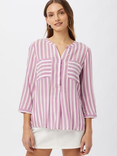 Camicia da donna TOM TAILOR di colore prugna / bianco, Visualizzazione modelli