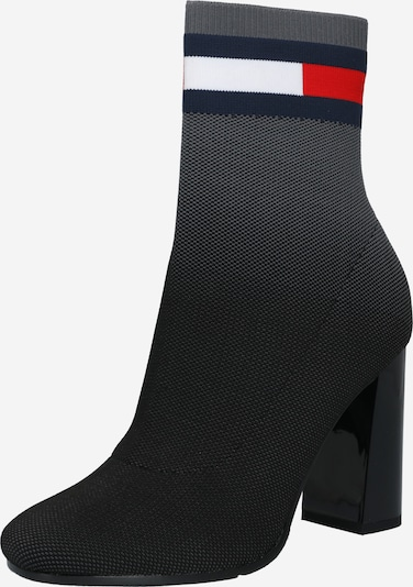 Tommy Jeans Botines en azul noche / gris / rojo / negro / blanco, Vista del producto
