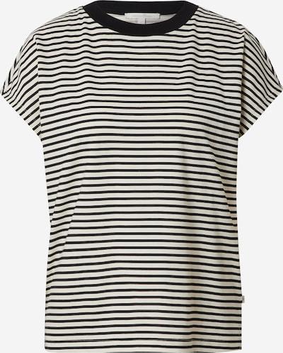 TOM TAILOR DENIM T-Shirt in schwarz / weiß, Produktansicht