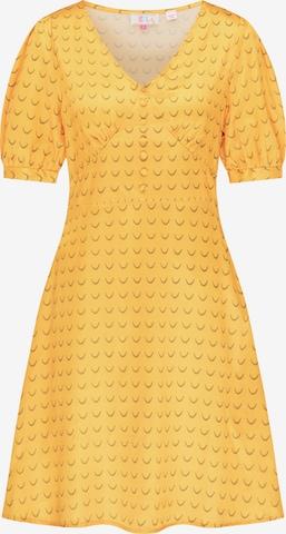 IZIA Kleid in Gelb