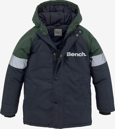 BENCH Performance Jacket in marine blue / Grey / Dark green, Item view