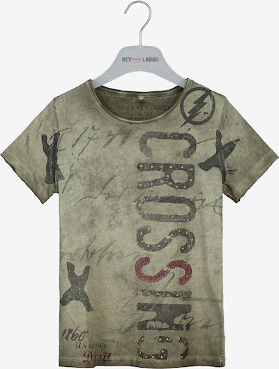 Key Largo T-Shirt 'BT Highway' in khaki, Produktansicht