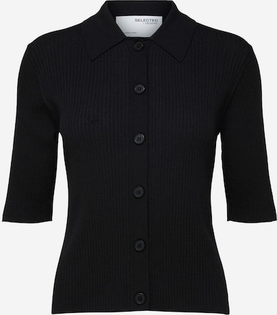 SELECTED FEMME Strickjacke in schwarz, Produktansicht