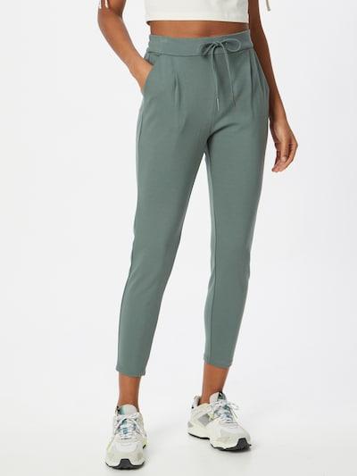 Pantaloni con pieghe 'EVA' VERO MODA di colore menta, Visualizzazione modelli