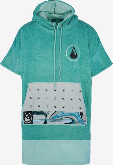 Wave Hawaii Badeponcho ' Liz ' in türkis / pastellgrün, Produktansicht