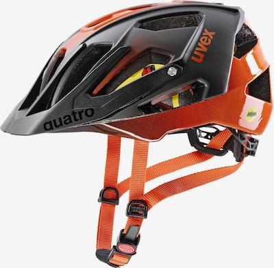 UVEX Fahrradhelm in orange / schwarz, Produktansicht