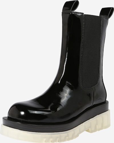 Jeffrey Campbell Chelsea Boots 'TANKED' in Black, Item view