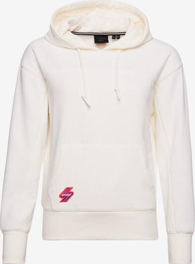 Superdry Sweatshirt in de kleur Crème: Vooraanzicht