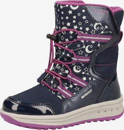 GEOX Čizme za snijeg u plava / ljubičasta, Pregled proizvoda
