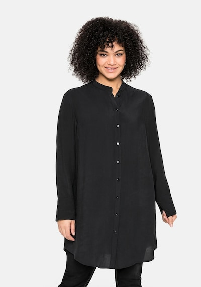 SHEEGO Blouse in Black, View model
