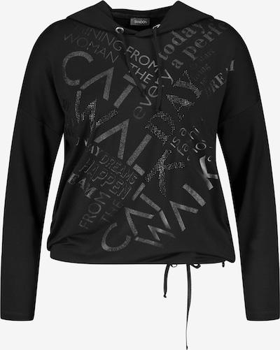 SAMOON Shirt in schwarz, Produktansicht