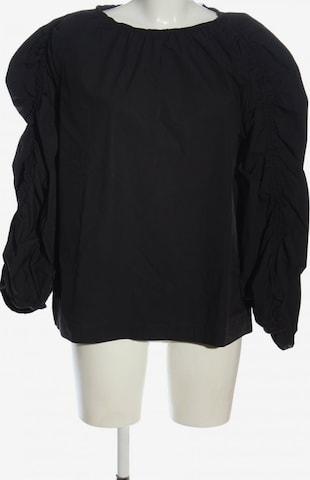 Arket Blouse & Tunic in XXL in Black