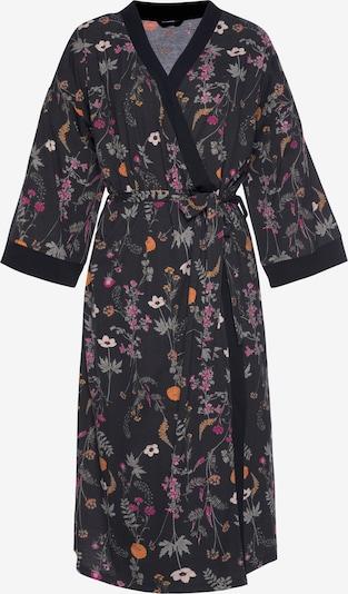 LASCANA Dressing Gown in Grey / Orange / Pink / Black, Item view