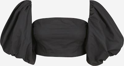 Missguided (Petite) Crop Top 'Petite Bardot' in schwarz, Produktansicht