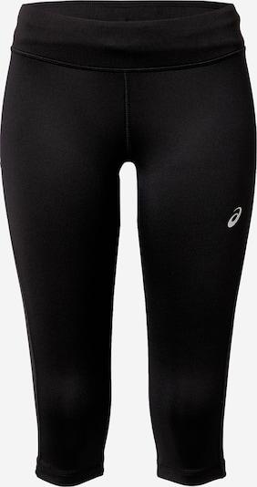 ASICS Pantalon de sport 'Silver' en gris / noir, Vue avec produit