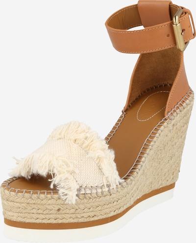 Sandalo con cinturino 'Glyn' See by Chloé di colore crema / caramello, Visualizzazione prodotti