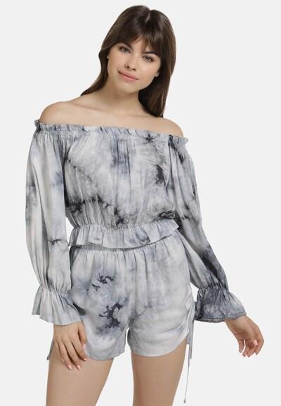 Bluză MYMO pe gri deschis / negru, Vizualizare model