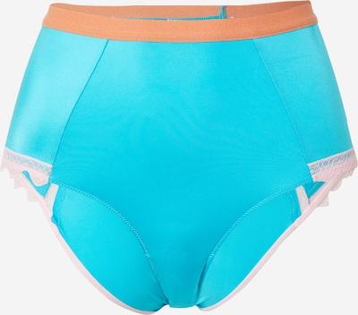 Dora Larsen Bikinihose 'SIENNA' in blau / rosa, Produktansicht