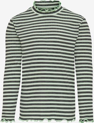 KIDS ONLY Shirt in neongrün / schwarz / weiß, Produktansicht