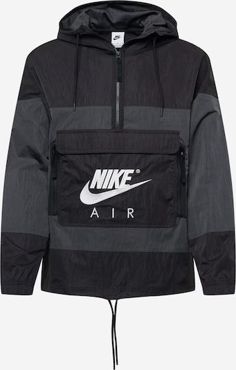 Nike Sportswear Prechodná bunda - tmavosivá / čierna, Produkt