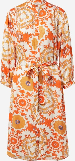 Rochie tip bluză 'CACOLET' Derhy pe ecru / portocaliu / portocaliu deschis, Vizualizare produs