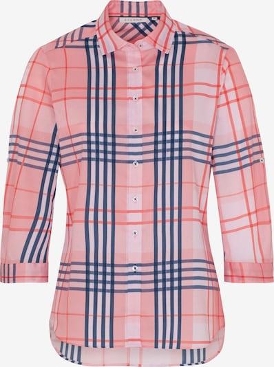 ETERNA Bluse in blau / pink / rot, Produktansicht