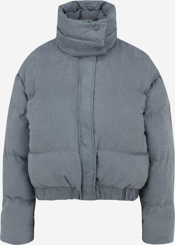 Missguided Petite Between-Season Jacket in Blue