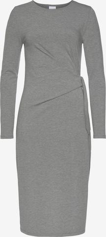 LASCANA Puzdrové šaty - Sivá