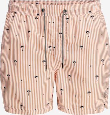 Jack & Jones Junior Swimming shorts 'Bali' in Pink