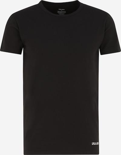 Lyle & Scott Undershirt 'ELIJAH' in Black / White, Item view